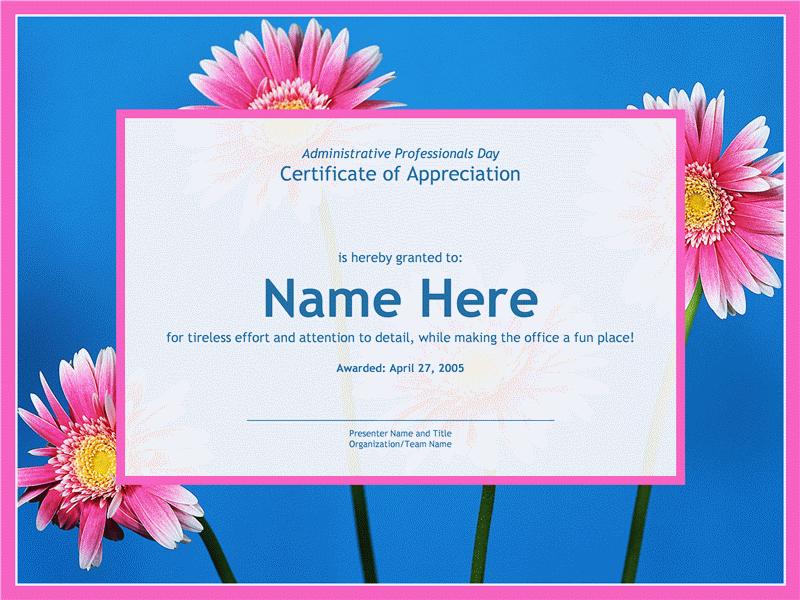 Сертифікат для фахівця-адміністратора (з фотографією на тлі)