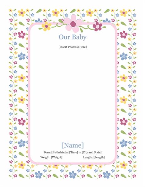 Дитячий фотоальбом (для дівчинки)