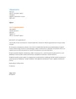 Супроводжувальний лист функціонального резюме (співпадає з функціональним резюме)
