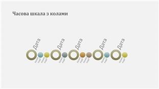 """Презентація """"Часова шкала подій"""" (широкоформатна)"""