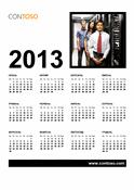 Бізнес-календар на 2013 рік (пн.-нд.)