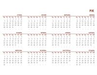 Глобальний річний календар