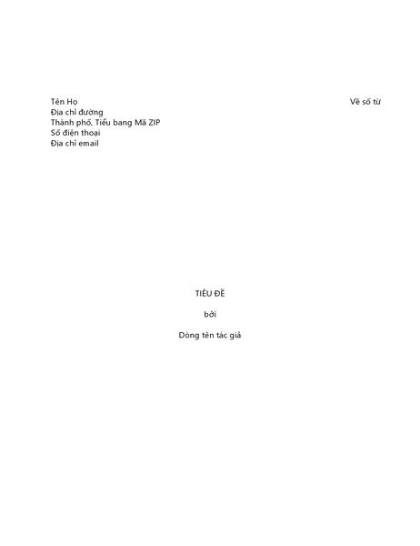 Bản thảo sách