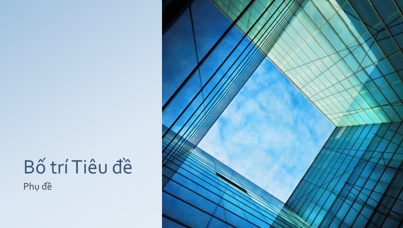 Bản trình bày khối thủy tinh tiếp thị doanh nghiệp (màn hình rộng)