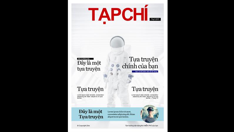 Bìa tạp chí