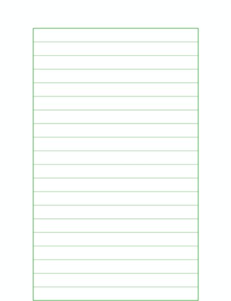 稿纸(水平行线式)
