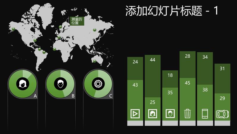 全球信息图