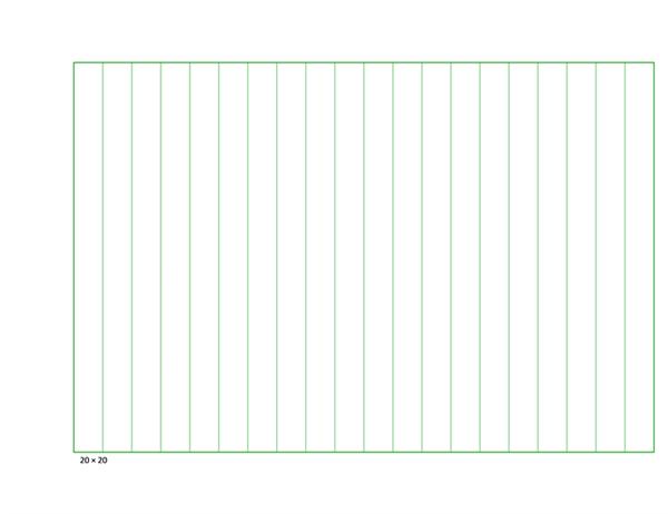 稿纸(垂直行线式)