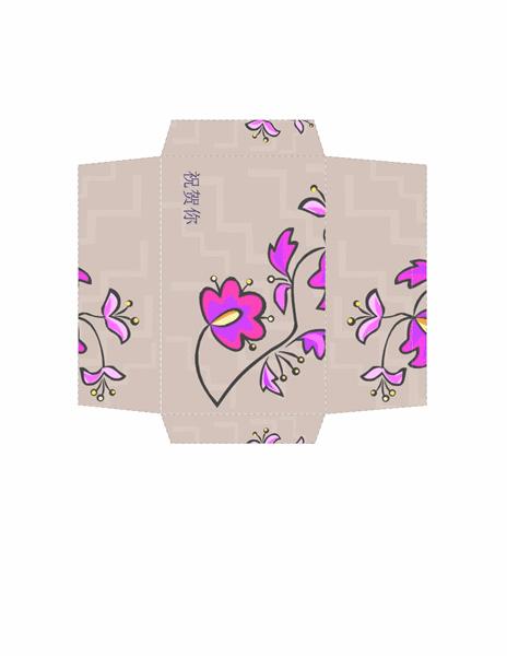 红包(花卉图案)