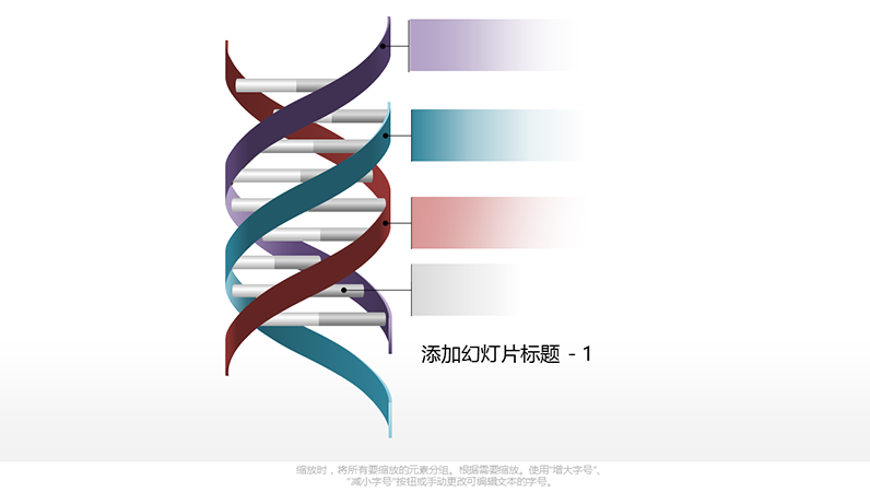 三螺旋 DNA 图形