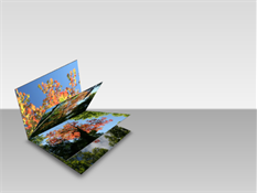 采用三维翻书效果的图片