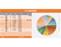 Party 预算表