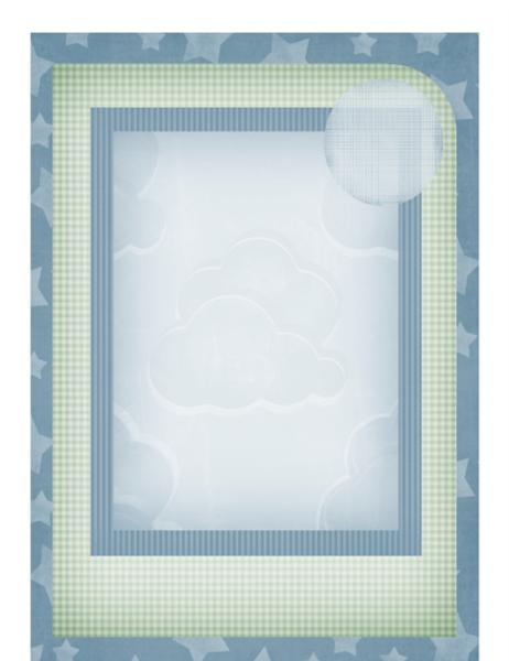 寶寶相簿 (星星圖案)