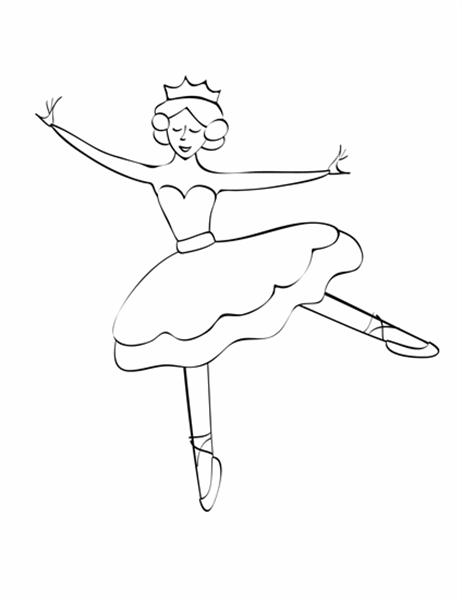 彩色印刷品 (芭蕾女伶設計)