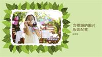 家庭相簿 (綠葉自然設計)