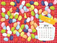 2014 年美術設計月曆