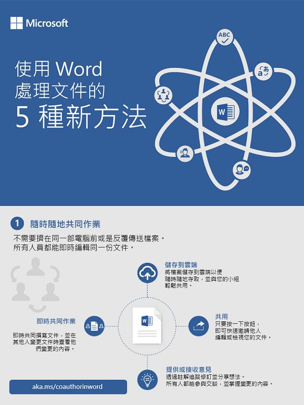 使用 Word 處理文件的 5 種新方法