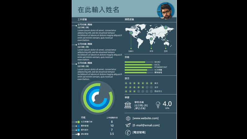 國際圖表型履歷